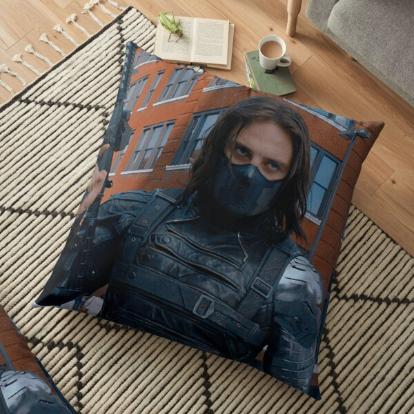 Hot Winter Soldier Floor Pillow