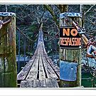 No trespassing! by lynell