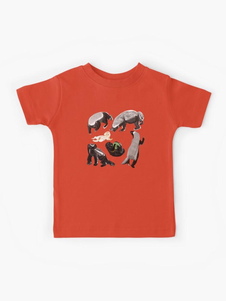 b4e7da0fed727 Ratel Honey Badger | Kids T-Shirt