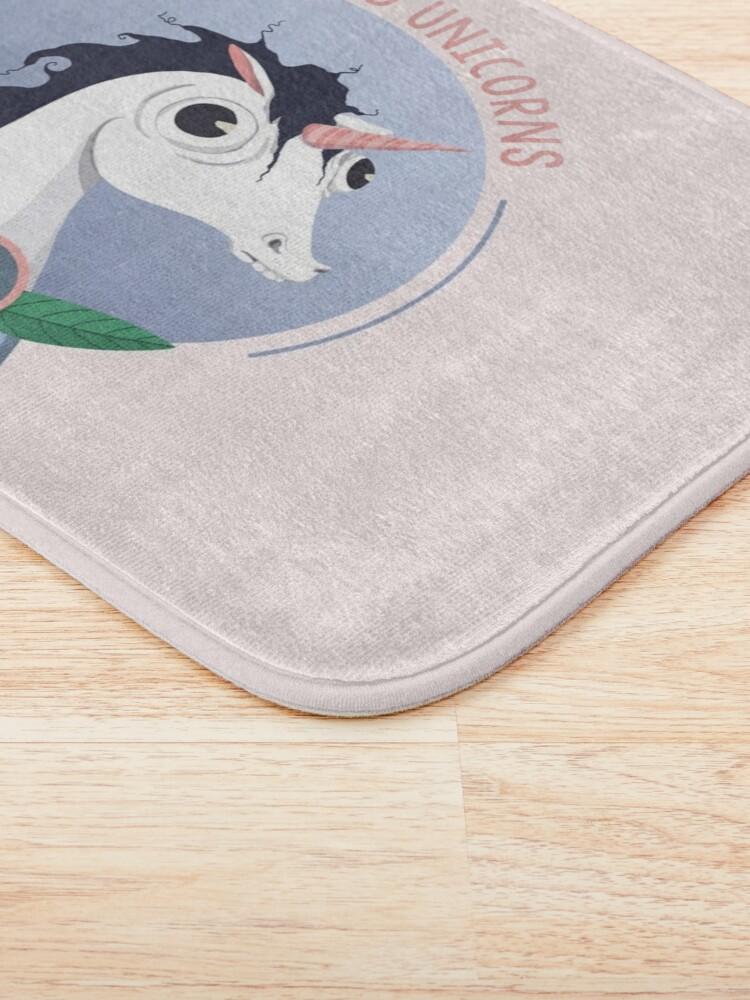 Alternate view of Awkward Unicorns Club Bath Mat