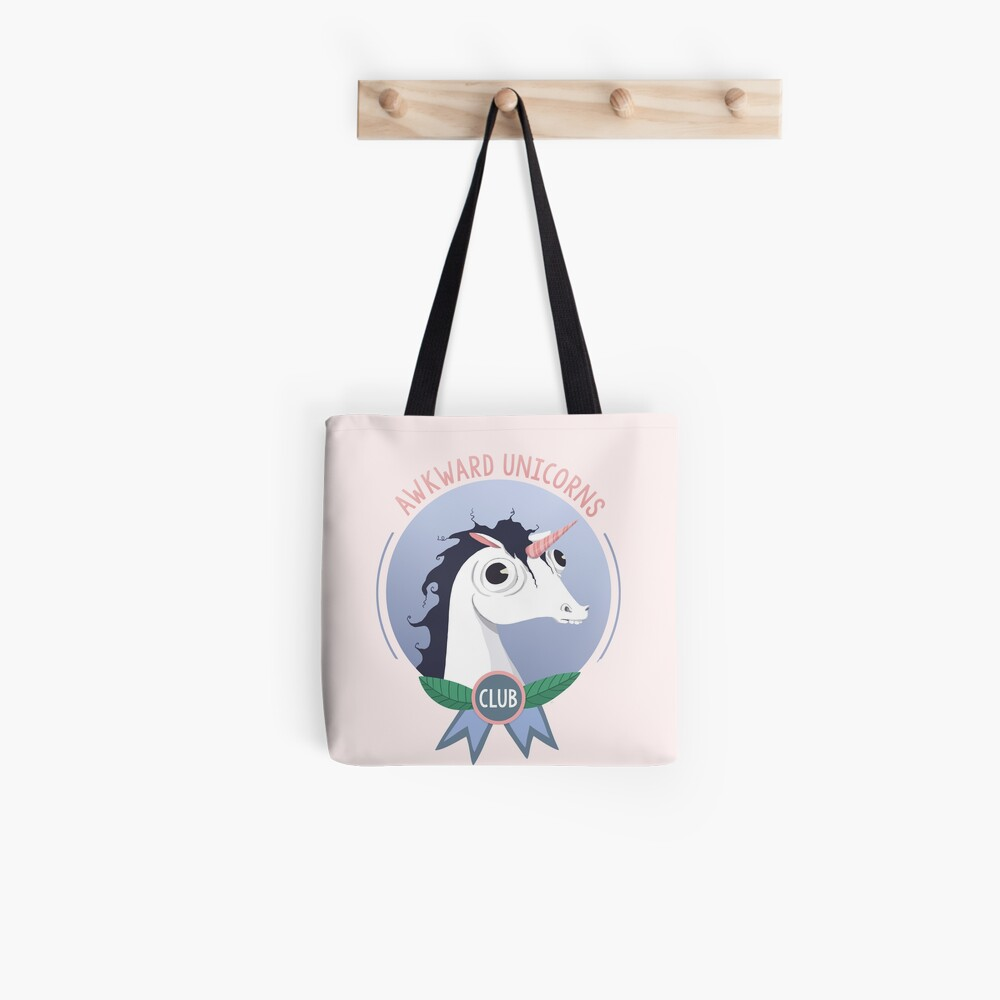 Awkward Unicorns Club Tote Bag