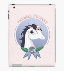Awkward Unicorns Club iPad Case/Skin