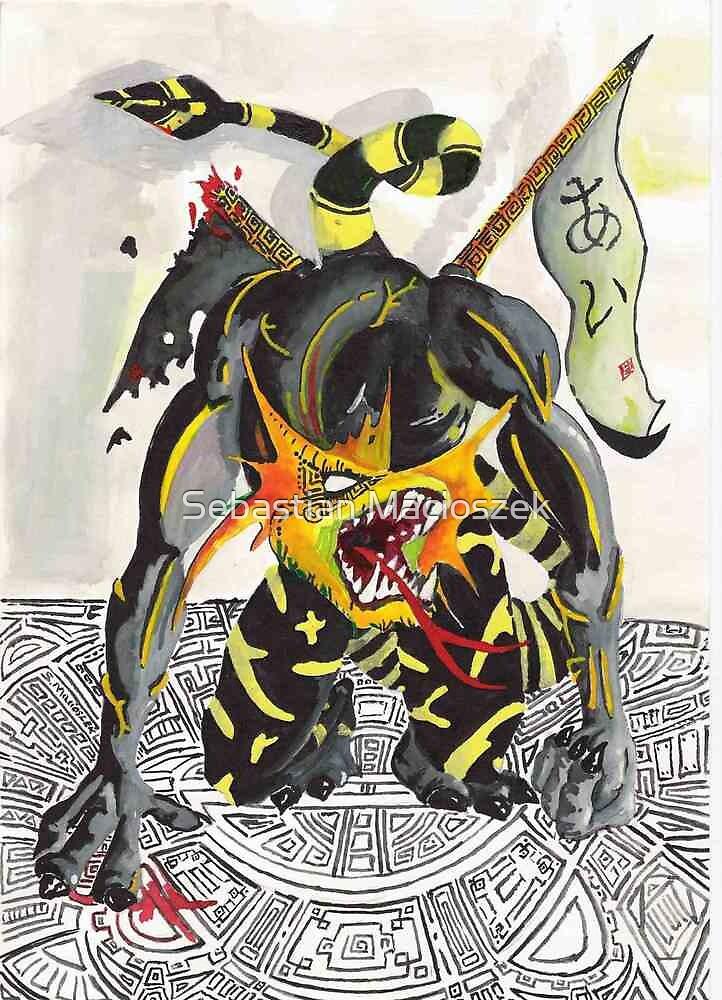 Samuraj Dragon by Sebastian Macioszek