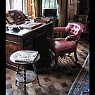 The study: the desk next to the window by Roberta Angiolani
