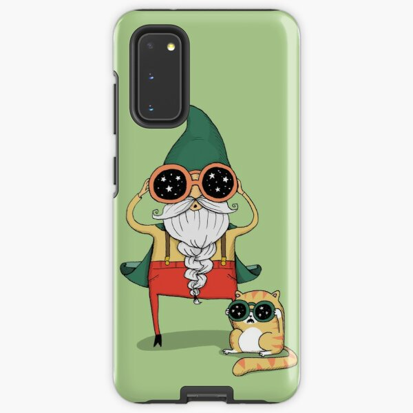 Wizard and Cat Samsung Galaxy Tough Case