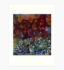 Blue Marmalade Art Print