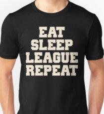 Eat Sleep League Repeat Shirt T-Shirt
