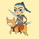 Warrior by agrapedesign