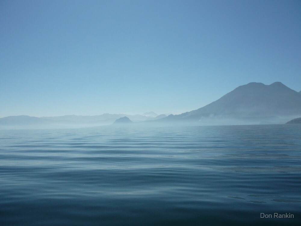 Atitlan Blue by Don Rankin