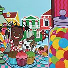 Candyshop happy colorful bites by Mirjam Griffioen