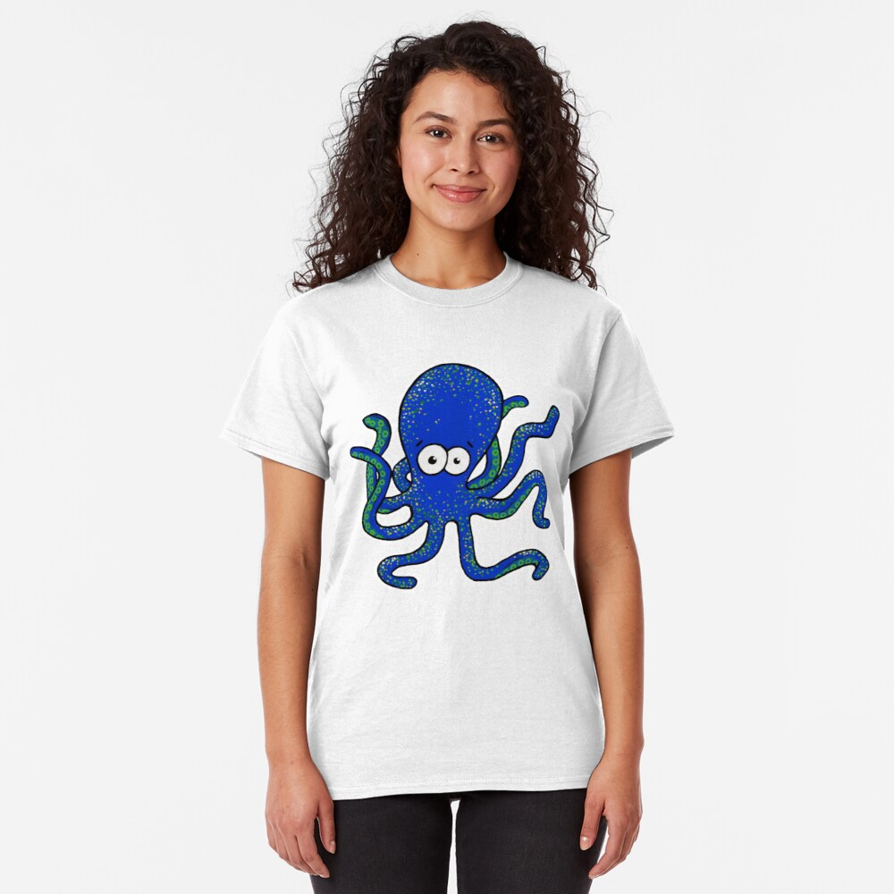 Squiggles the Octopus Classic T-Shirt