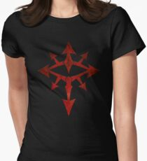 The Eye of Chaos Women's Fitted T-Shirt