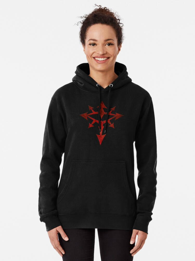 Alternate view of The Eye of Chaos Pullover Hoodie