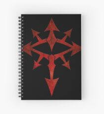 The Eye of Chaos Spiral Notebook