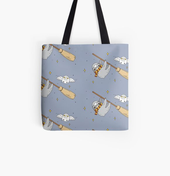 Harry the sloth  All Over Print Tote Bag