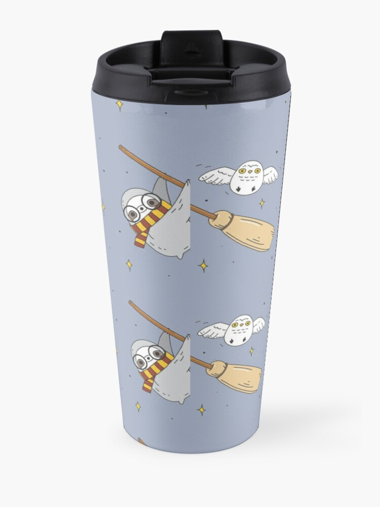 Alternate view of Harry the sloth  Travel Mug