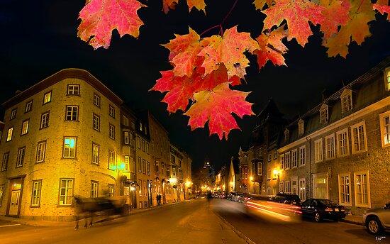 Quebec streets by Igor Zenin