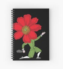 The Poet in Love Spiral Notebook