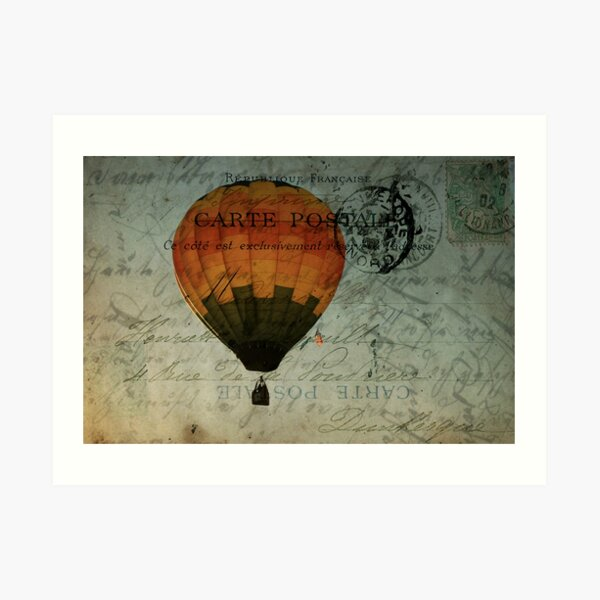 Come Travel the World With Me Art Print
