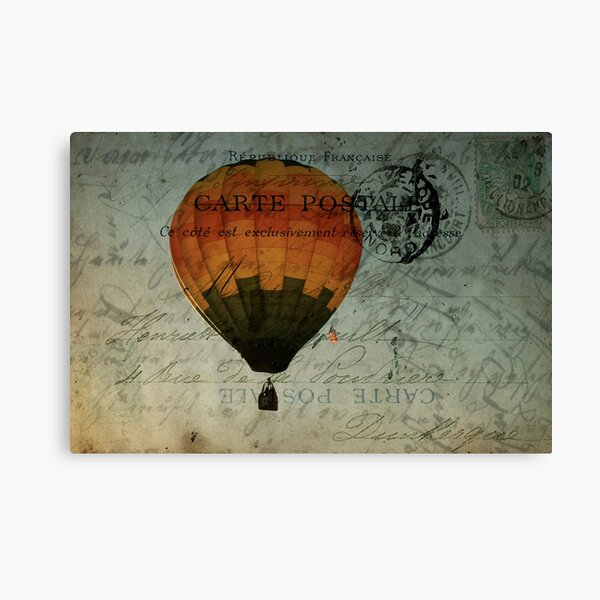 Come Travel the World With Me Canvas Print