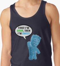 First I'm Sour, Then I'm Sweet Quote Tank Top