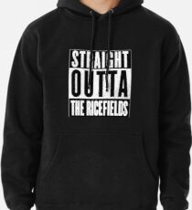 Straight Outta the Ricefields Pullover Hoodie