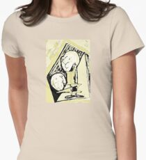 Two Characters. Hand drawing in digital art T-Shirt