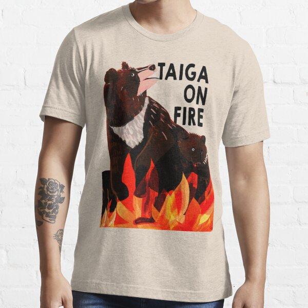 Taiga on Fire #3 Camiseta esencial