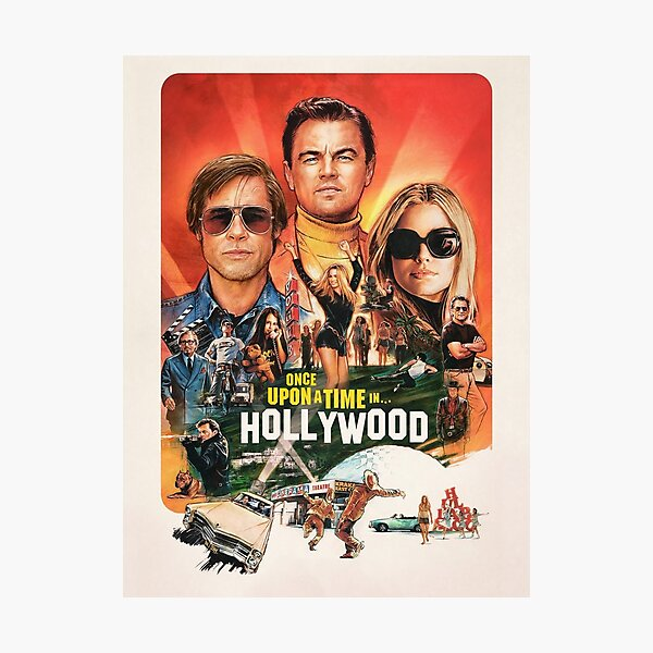 Once Upon a Time ... in Hollywood Photographic Print