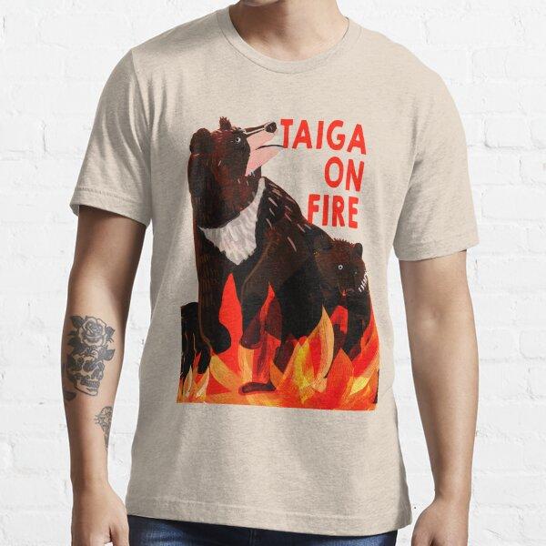 Taiga on Fire #1 Camiseta esencial