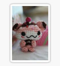 Hamster Cupcake Sticker