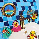 duckfun on board by Mirjam Griffioen