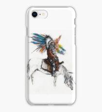 Warrior on Horse iPhone Case/Skin