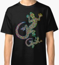 Gecko Lizard Psychedelic Fantasy Art Vector Illustration  Classic T-Shirt
