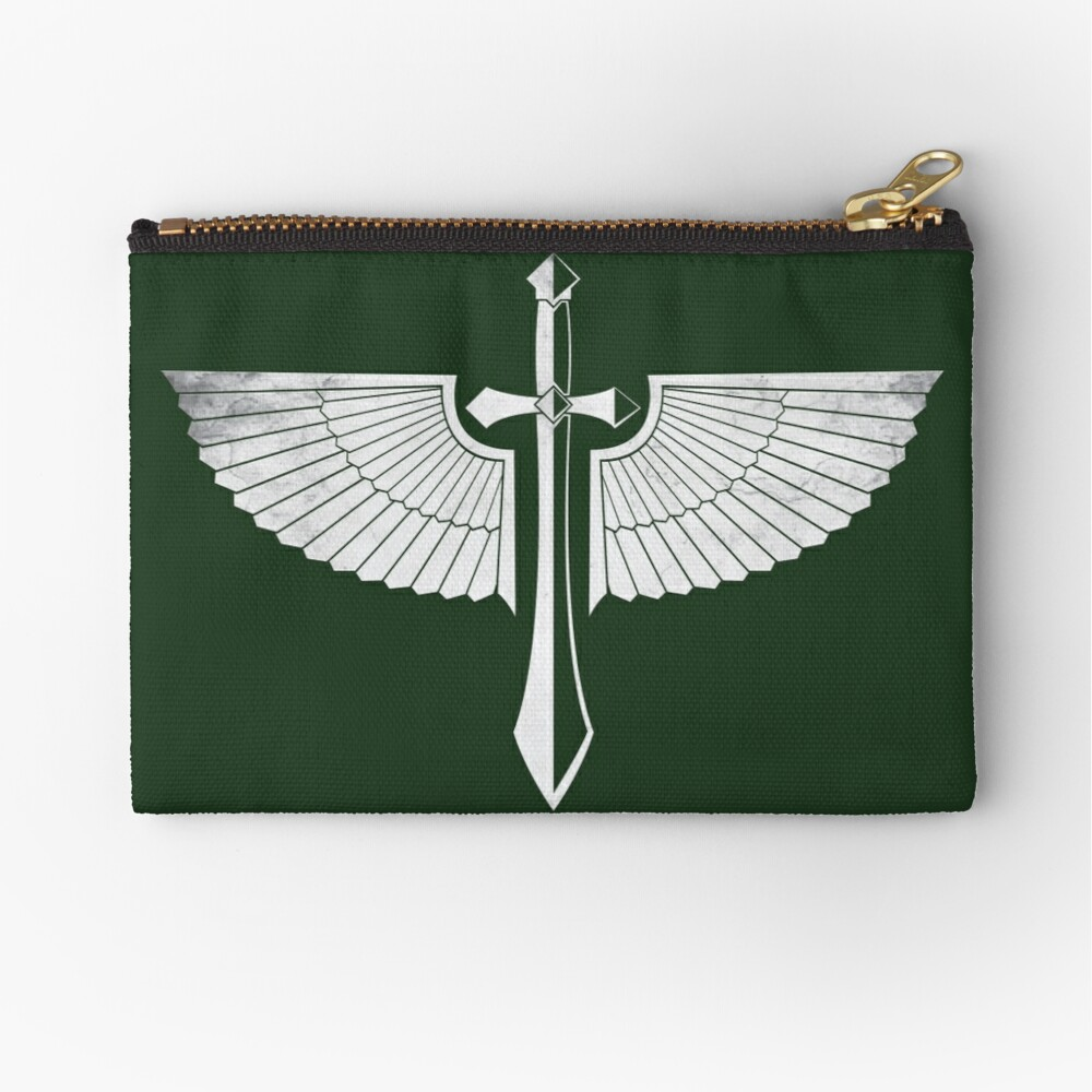 The winged Sword Zipper Pouch