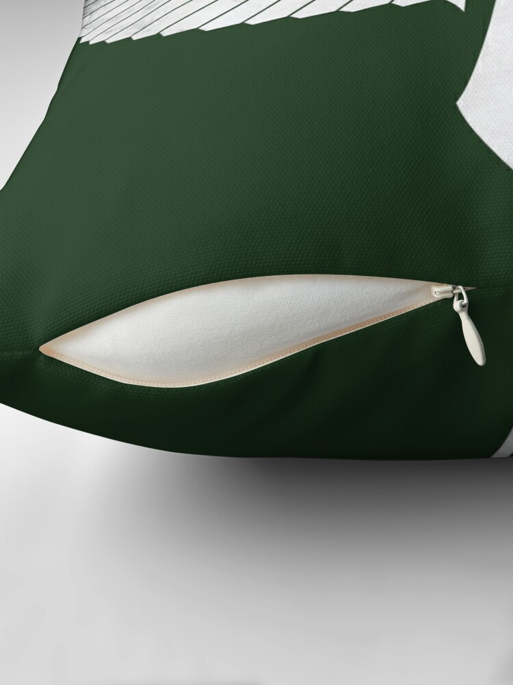 Alternate view of The winged Sword Throw Pillow