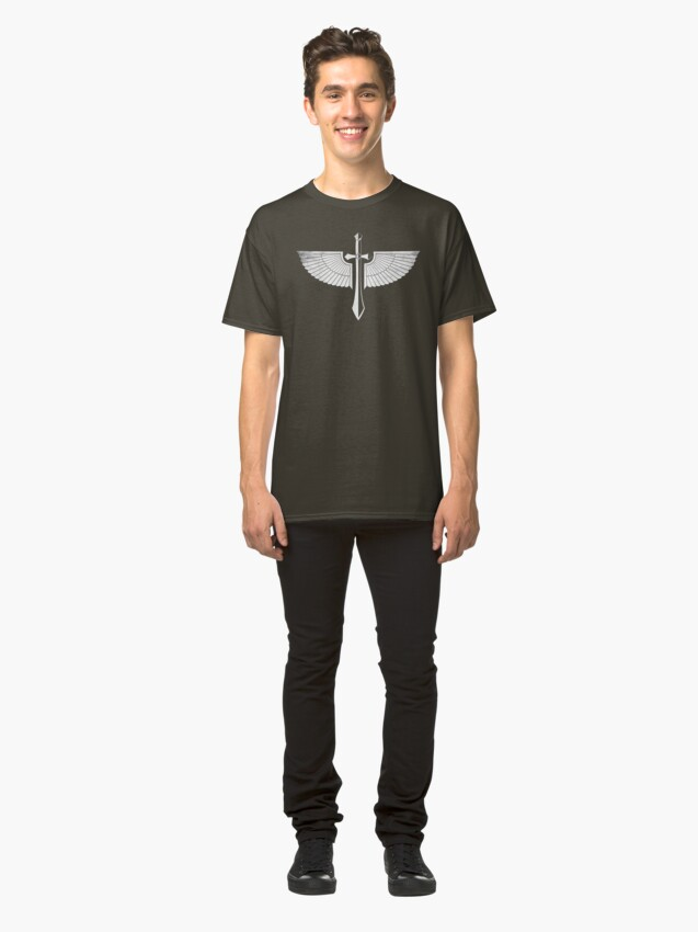 Alternate view of The winged Sword Classic T-Shirt