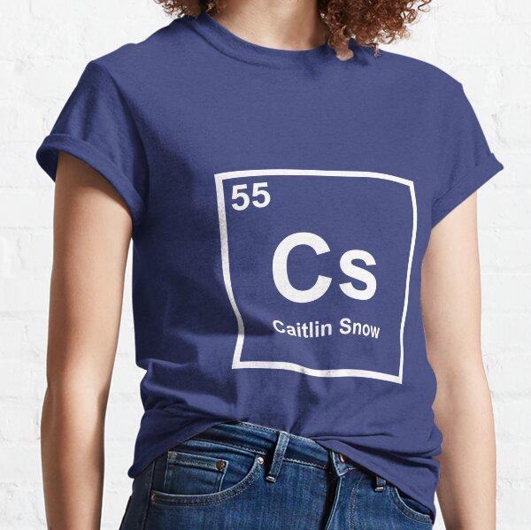 Caitlin Snow - Elemento de tabla periódica Camiseta clásica