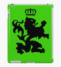 Lion crown geek funny nerd iPad Case/Skin