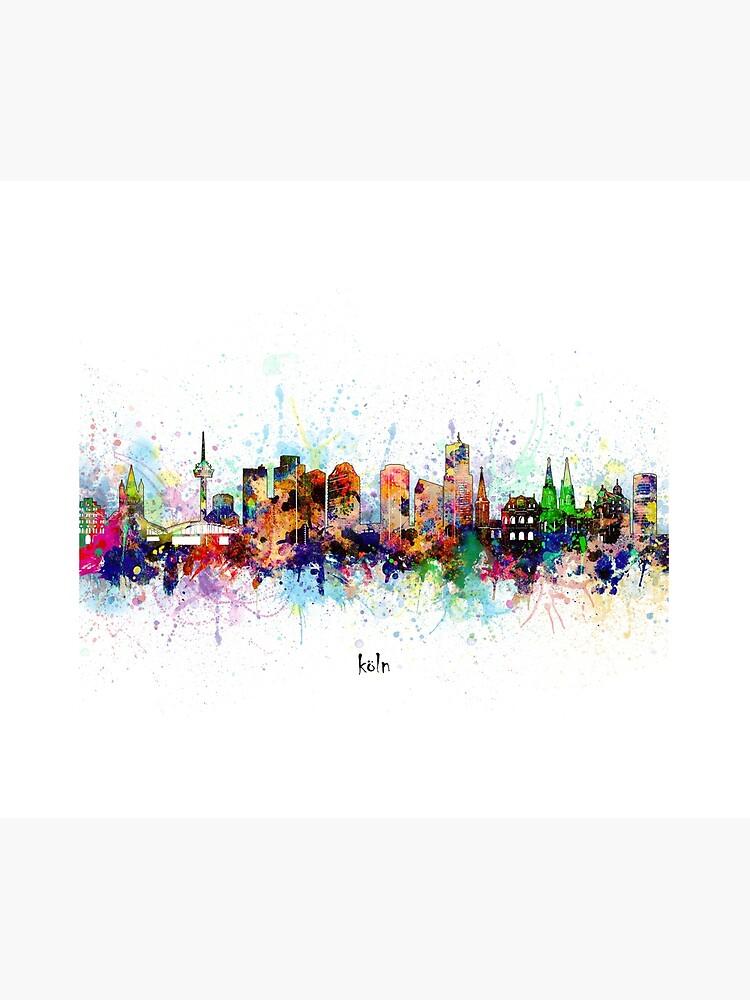 cologne skyline by BekimART
