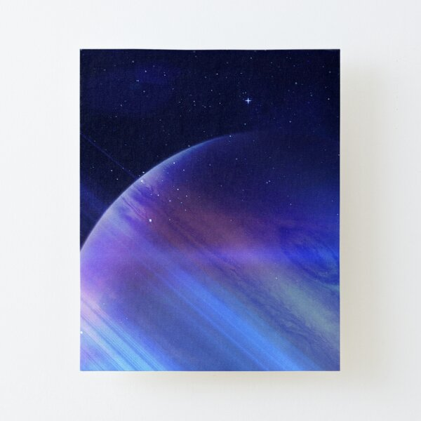 Secrets of the galaxy Canvas Mounted Print