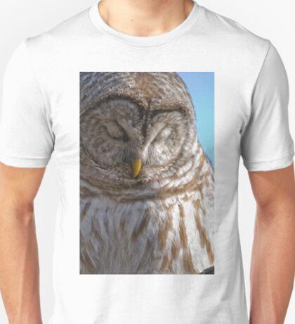 Barred Owl in Tree - Brighton, Ontario T-Shirt
