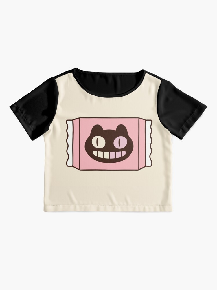 Alternate view of Cookie Cat from Steven Universe Chiffon Top