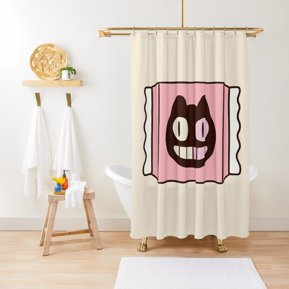 Cookie Cat from Steven Universe Shower Curtain