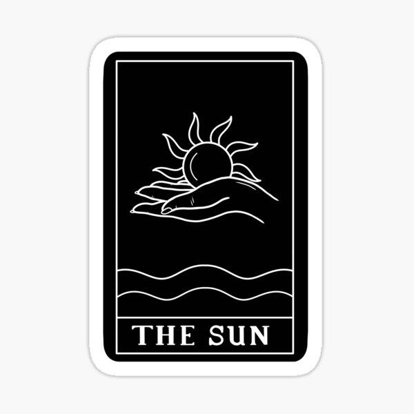 Copy of The sun Sticker