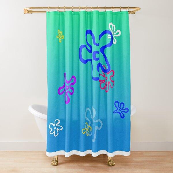 Spongebob Sky Background Shower Curtain