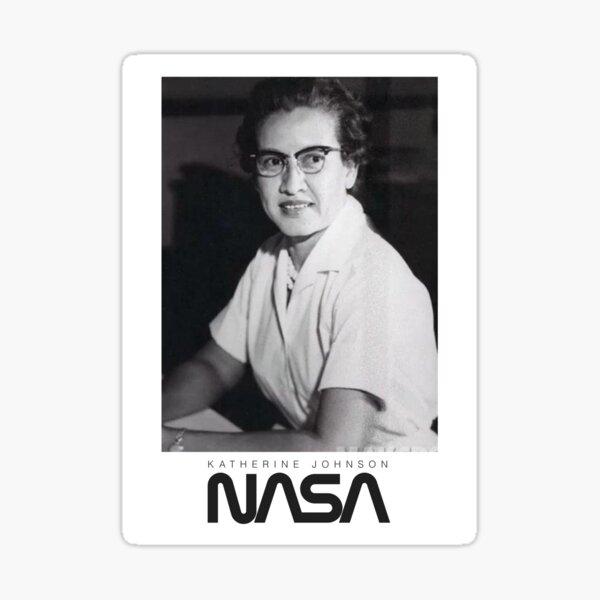 NASA hero Katherine Johnson Sticker