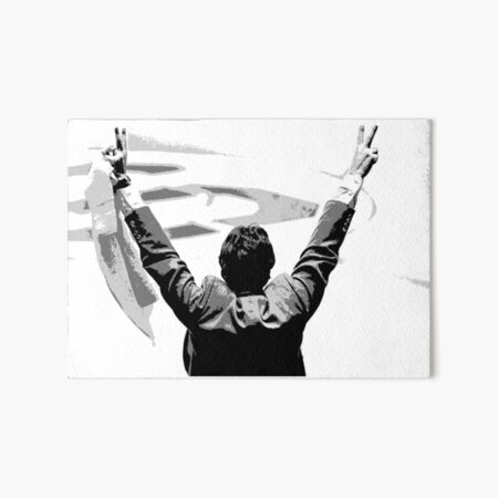 Coach Jimmy Valvano Art Board Print