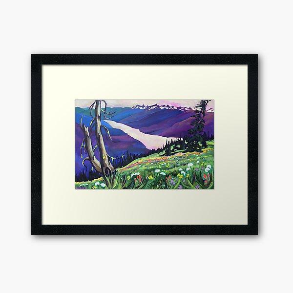 Idaho Peak Framed Art Print