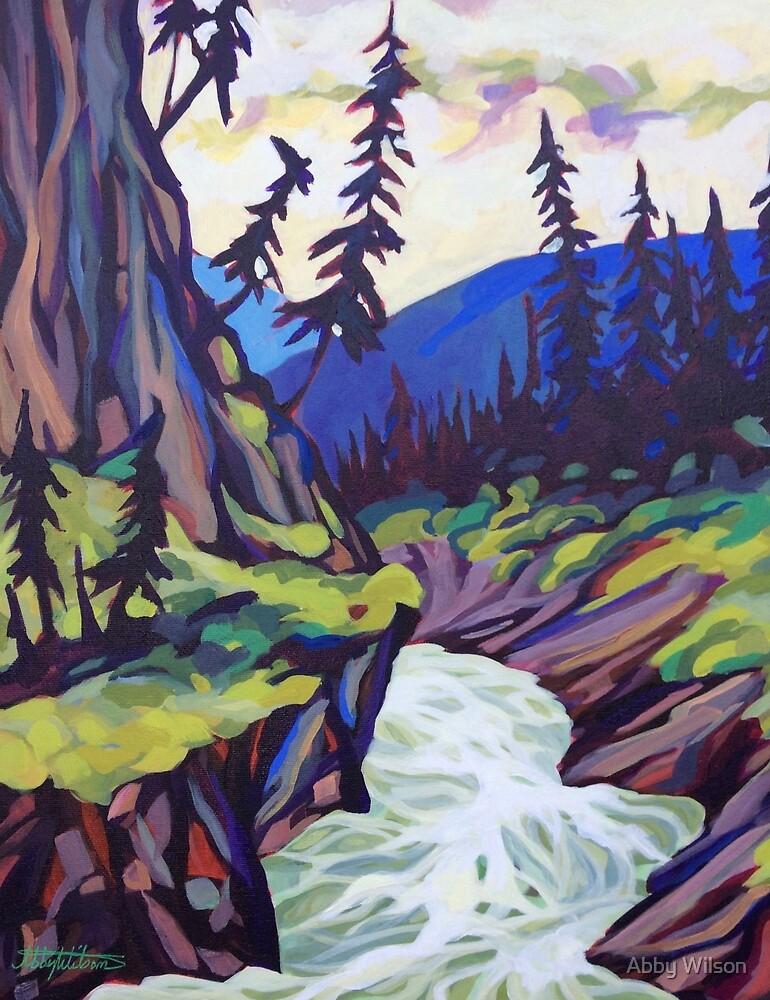 Fry Creek Canyon by Abby Wilson